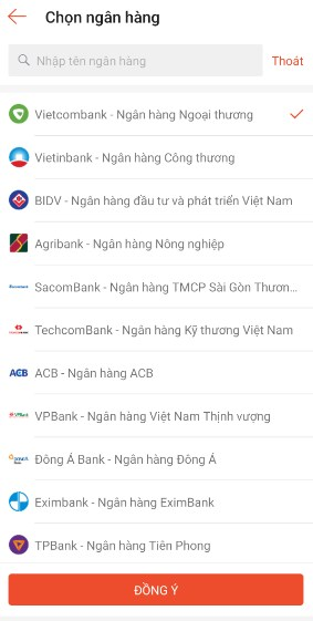 thanh toan tren shopee bang the atm